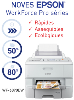Noves EPSON WorkForce Series 5000, 6000 i 8000 (A3+) + RIPS