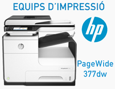 Equips d'impressió HP Officejet i PageWide